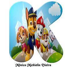 Donut Cartoon, Paw Patrol Decorations, Printable Alphabet Letters, Bowser, Kids, Gabi, Template, Ferris Wheel, 3 Year Olds