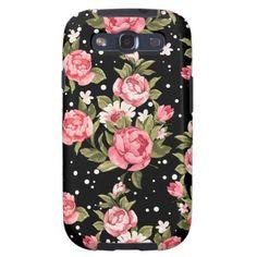 Pink Puny Peonies Samsung Galaxy SIII Case