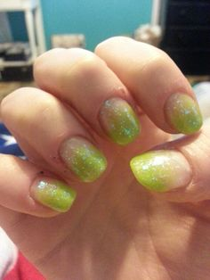 Easy St Patrick's day nails