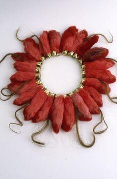 Mielle Harvey - City Tribal Amulets - lucky rabbit feet, human hair.//Like a bad karma amulet?Corinne