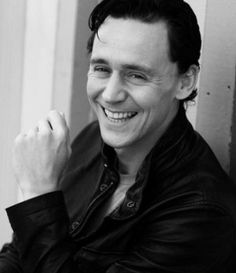 Tom Hiddleston, making the world a better place, one smile at a time.