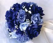 blue rose bouquet!! THE BLUES!!!