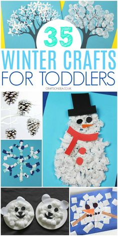Winter crafts for toddlers preschool - Crafts and Activities for Kids - Diy Desing Winter Crafts For Toddlers, Christmas Crafts For Kids, Holiday Crafts, Winter Preschool Activities, Toddler Activities, Winter Fun, Winter Theme, Baby Crafts, Fun Crafts