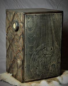Cajon, shaman, woodwork Woodworking, Joinery, Wood Working, Woodwork, Carpentry, Woodworking Projects
