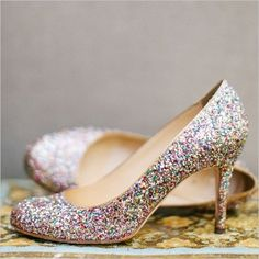 NWT Kate Spade Multi Glitter Karolina Heels 8.5 Brand never never worn Kate Spade glitter Karolinas! No longer sold in stores. Beautiful multi glitter heels and so comfortable! True size 8.5. All leather made in Italy. Box, tags, and dust bag included. kate spade Shoes Heels