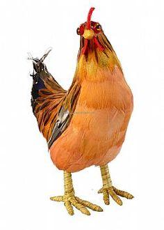 Mushroom Party - Διακοσμητική κότα Πορτοκαλί 22cm Rooster, Stuffed Mushrooms, Party, Animals, Stuff Mushrooms, Animales, Animaux, Parties, Animal
