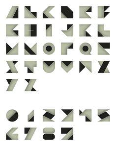 ORI typeface by Hendrick Rolandez, via Behance