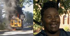 People Are Calling This Bus Driver A Hero After She Saved 20 Kids From A Bus Fire - BuzzFeed News