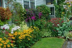 Wow, so gorgeous.  Seriously reminds me of my Grandma's side yard.  She was a wonderful gardener.
