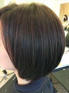stijl haar, bruin haar, kort haar