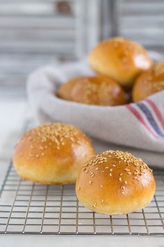 Receta de pan de hamburguesa casero Becauseblog