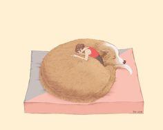 韩国插画师Heojiseon的插画欣赏 - 视觉中国设计师社区