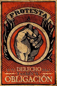 """All things Mexico. Muestras del Proyecto """"Propaganda y Conciencia"""" de Gran OM. Hace mucho que no veía propaganda tan bella"""