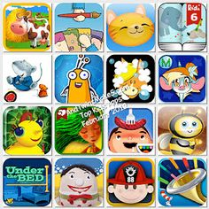 Top kids apps - February 2012