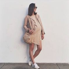 24 Gorgeous Looks That Prove You Can Be Pregnant and Stylish: POPSUGAR waysify