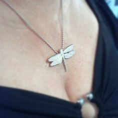 New Jason Oliva [fine jewelry] sterling silver 'Dragonfly' (Taken with Instagram)