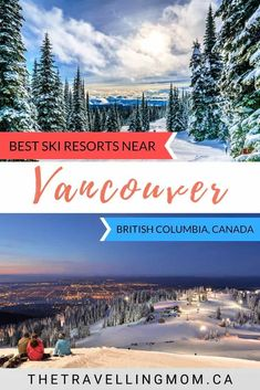 Take your ski bliss to the next level this winter season at some of the best ski resorts near Vancouver, British Columbia, Canada. Canada Vancouver, Vancouver Travel, Vancouver British Columbia, Backpacking Canada, Canada Travel, Columbia Travel, Alberta Canada, Canada Holiday, Best Ski Resorts