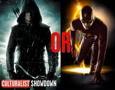 It's a CW superhero showdown!   Retweet for Arrow  Favorite for The Flash   *You can do both, of course*