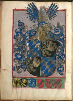 Necrologium Minoritarum Ratisponensium (saec. XIII-XVI). Berthold Furtmeyr / Johannes Rab Clm 1004 / Ratisbon. civ. 30 [Regensburg], 15. Jahrhundert Folio