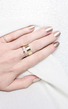 Vrai & Oro stacking rings