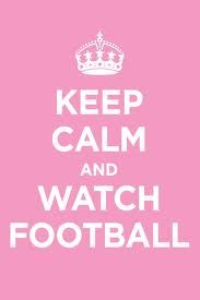 Keep Calm and watch fotball....