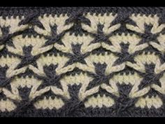Tunisian Crochet Houndstooth Pattern for Houdstooth Coat - YouTube