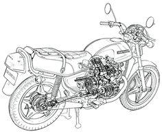 1977 HONDA WING GL500