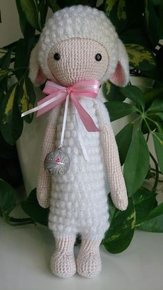 LUPO the lamb made by oa-design / crochet pattern by lalylala