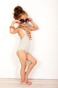 Little Sas! And I love the swim suit