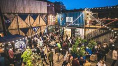 Check out our pick of the best beer gardens and terraces in London, Liverpool, Brighton, Birmingham and Manchester. Read more on heat. Container Architecture, Landscape Architecture, Brixton, Things To Do In London, Free Things To Do, Bar Deco, Temporary Architecture, Architecture Restaurant, Food Park