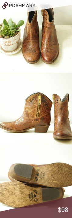 Steven Madden genuine leather ankle boots NEW Brand new without box, size 6 . Ankle boots with western cowboy style mixed. Made in Mexico. Steve Madden Shoes Ankle Boots & Booties