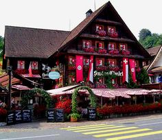 Swiss Chalet -- Lucerne, Switzerland