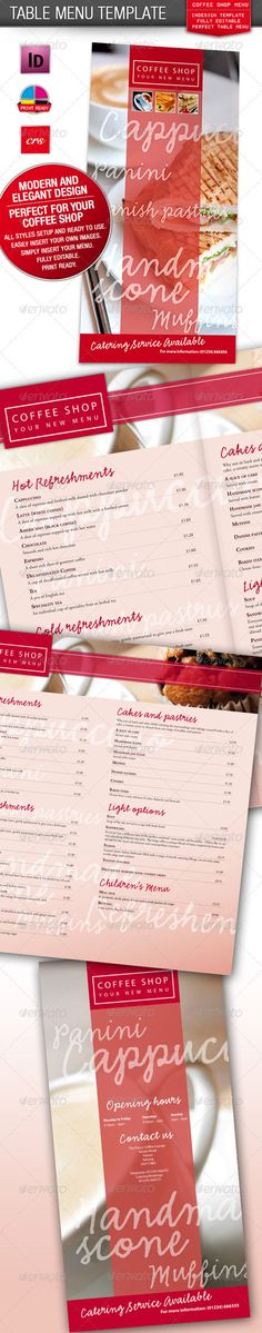 Restaurant Menu Card Food menu, Food menu template and Menu - lunch menu template free