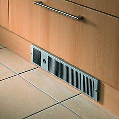 Wickes Electric Plinth Heater Stainless Steel | Wickes.co.uk