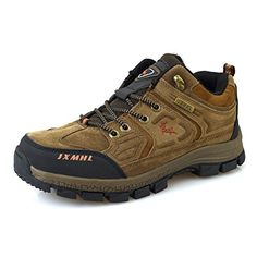 Coo  Mo SH926 Mens Waterproof Hiking Shoe Khaki 95 DMUS44 -- Want additional info? Click on the image.(This is an Amazon affiliate link and I receive a commission for the sales)