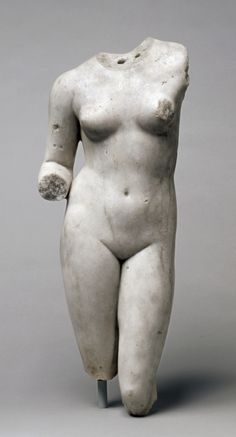 Torso of Venus, 1-200 Roman, 1st-2nd Century marble | Cleveland Museum of Art
