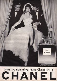 Vintage Chanel No.5 Ad