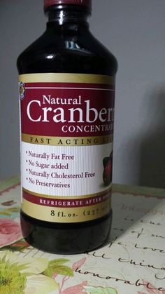 Check out this item I found on eBay: http://www.ebay.com/itm/Puritans-Pride-Natural-Cranberry-Concentrate-8-oz-Liquid-Fat-Free-No-Sugar-/181347836466
