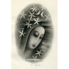 Zpěv I (K.H.Mácha Máj) Illustration, Artist, Prints, Kunst, Artists, Illustrations