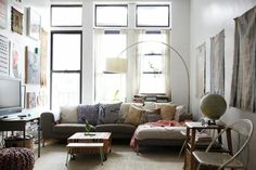 Dreamy. SO dreamy. See how this West Village artist makes a...