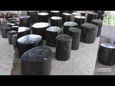 Black Petrified Wood Stump | IndoGemstone Wood Stumps, Petrified Wood, Fossils, Natural Wood, Stone, Camera Phone, Black, Black People, Stones