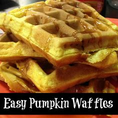 ... waffles craft craft dictator side dishes pumpkin waffles easy pumpkin