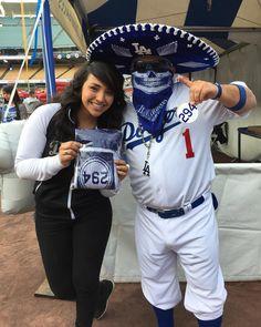 THINK BLUE: It Was Really Nice To Meet U @heynatalia I Hear U Every Morning On Real 92.3 Keep Up The Good Work Also At Dodger Stadium!  #Pantone294 #WeAre294 #WeLoveLA #DodgersFF #DodgersFanFest #DieHardFans #BleedBlue #MariachiLoco #DodgerBlueInMyBlood #LA #Dodgers #LoyalFan #DodgerFam #DodgerPride #LetsGoDodgers #DodgerStadium #BlueHeavenOnEarth #DodgerNation #VivaLosDodgers #PuroPincheDodgers #LosDoyers #LosDodgers by mariachiloco_1