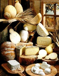 Italian Cheese! They are really delicious.