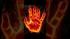 Fire hand by Ba-mi on Dreamstime viaThe Magic Faraway Tree Modern Canvas Art, Canvas Art Prints, Faraway Tree, Black Magic Spells, Londonderry, Fire Art, Psychic Readings, Paranormal, Funny Photos