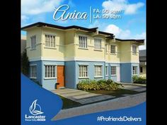Lancaster New City Anica House Model is a brand new house and lot for sale in Westwood Village, one of many villages inside Lancaster New City Cavite. Westwood Village, Lots For Sale, Samar, New City, Model Homes, First Home, Lancaster, Second Floor, Townhouse