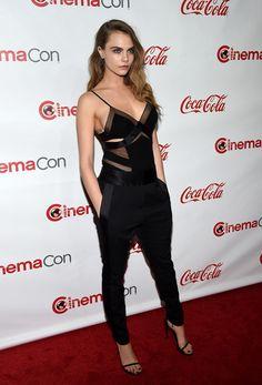 Cara Delevingne: CinemaCon 2015 - The CinemaCon Big Screen Achievement Awards  - Red Carpet