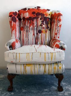 Timorous Beasties - Modern Rusty Drip Furniture - Timorous Beasties