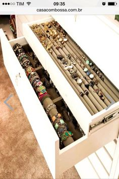 14 Easy Tips On How To Organize Your Jewelry Organizing DIY ideas