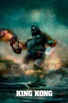 King Kong poster.